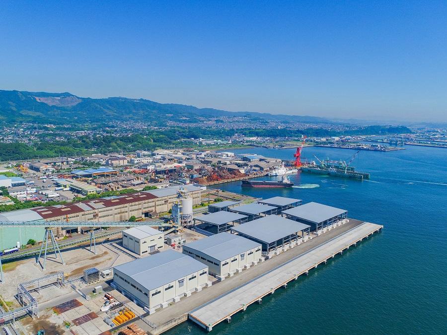 七ツ島バイオマス発電設備燃料エリア新築工事