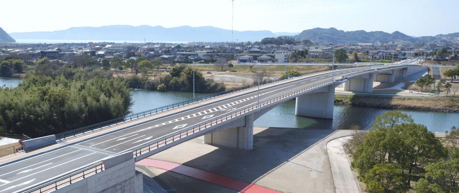 H26新川北線(しらさぎ橋)上部工事